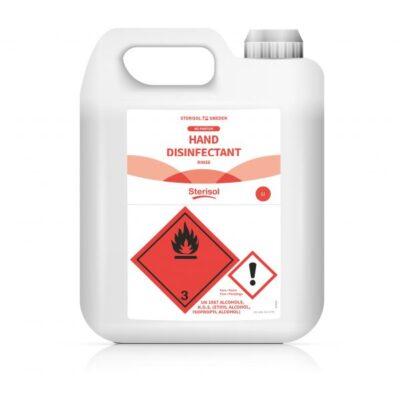Sterisol Handdesinfektion Rinse – 3 x 5 liter