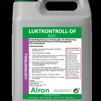 Luktkontroll-DF B.O.C Torr – 3 x 5 liter