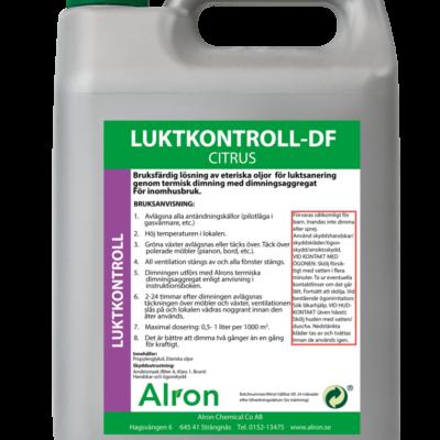 Luktkontroll-DF Citrus Torr – 3 x 5 liter