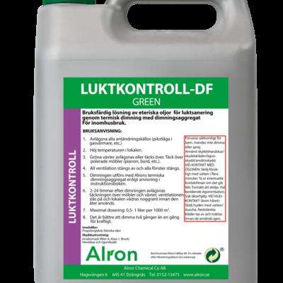 Luktkontroll-DF Green Mint Torr – 3 x 5 liter