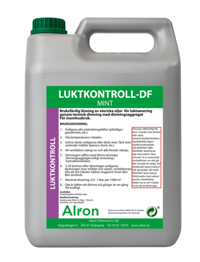 Luktkontroll-DF Mint Torr – 3 x 5 liter