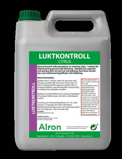 Luktkontroll Citrus Våt – 3 x 5 liter
