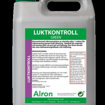 Luktkontroll Green Mint Våt – 3 x 5 liter