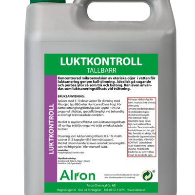 Luktkontroll Tallbarr Våt – 3 x 5 liter