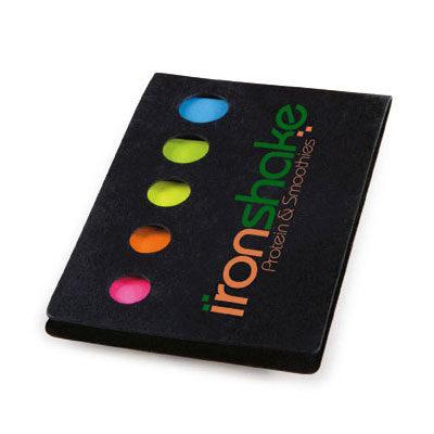 Notisblock – 5 färger