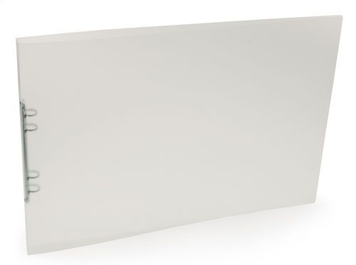 Plastmapp Polyclip folder – A4/A3