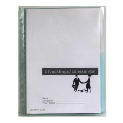 Plastmapp Displayfolder – A4