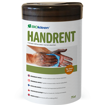 Handrent Wipes – 75 st