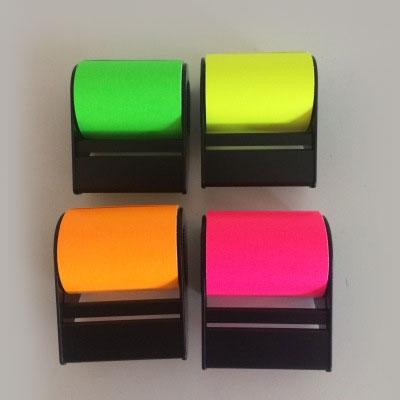 Rollnotes i 4 olika färger
