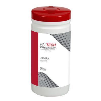 PalTech våtservetter för ytdesinfektion, 70 % IPA – 10 x 150 ark/fp