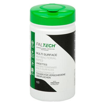 PalTech våtservett känsliga ytor, utan alkohol – 10 x 100 ark/fp