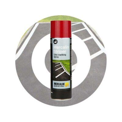 Mercalin striper – sprayfärg för linjemarkering – 12 x 500 ml
